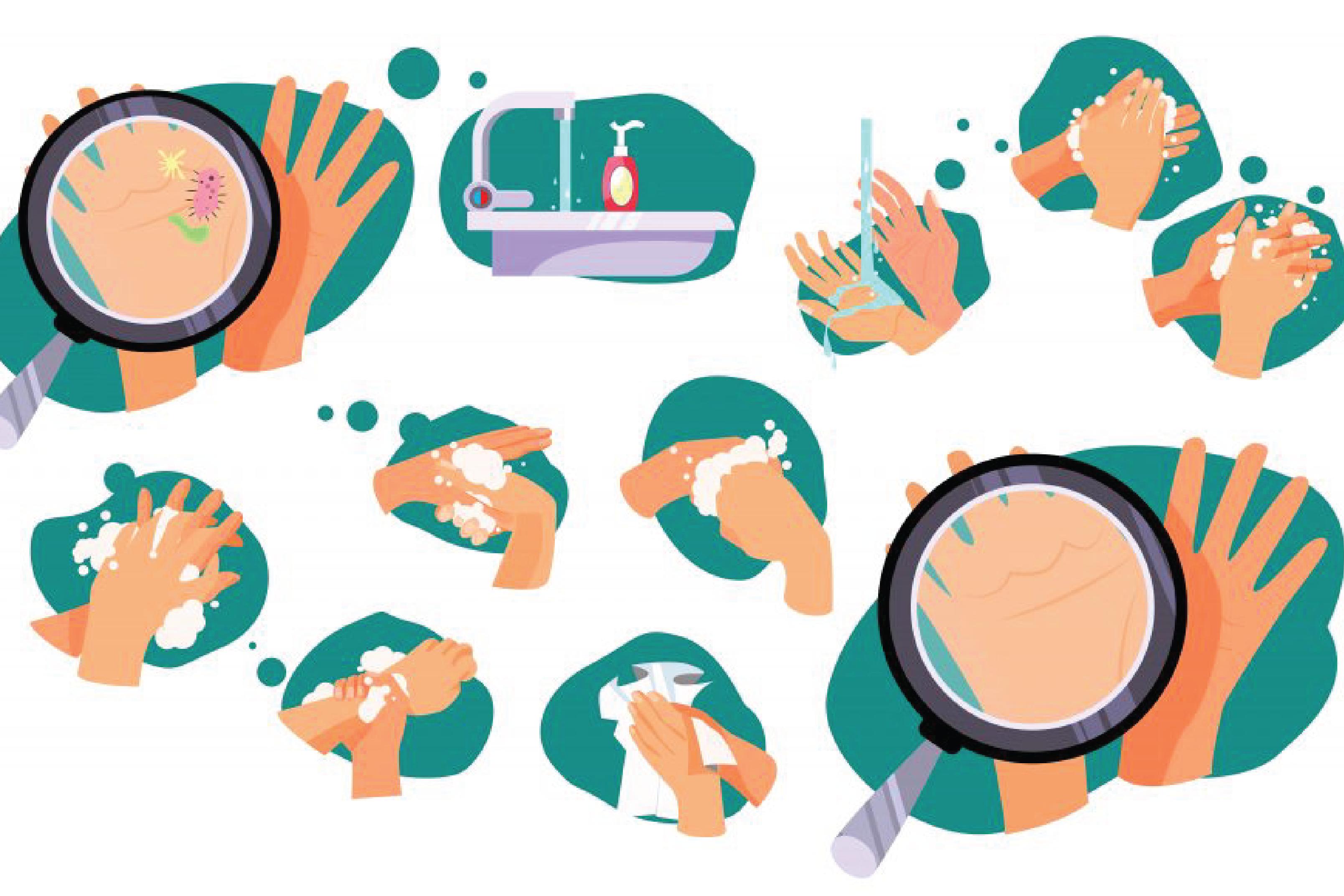 Anti-Coronavirus Hand Washing Techniques
