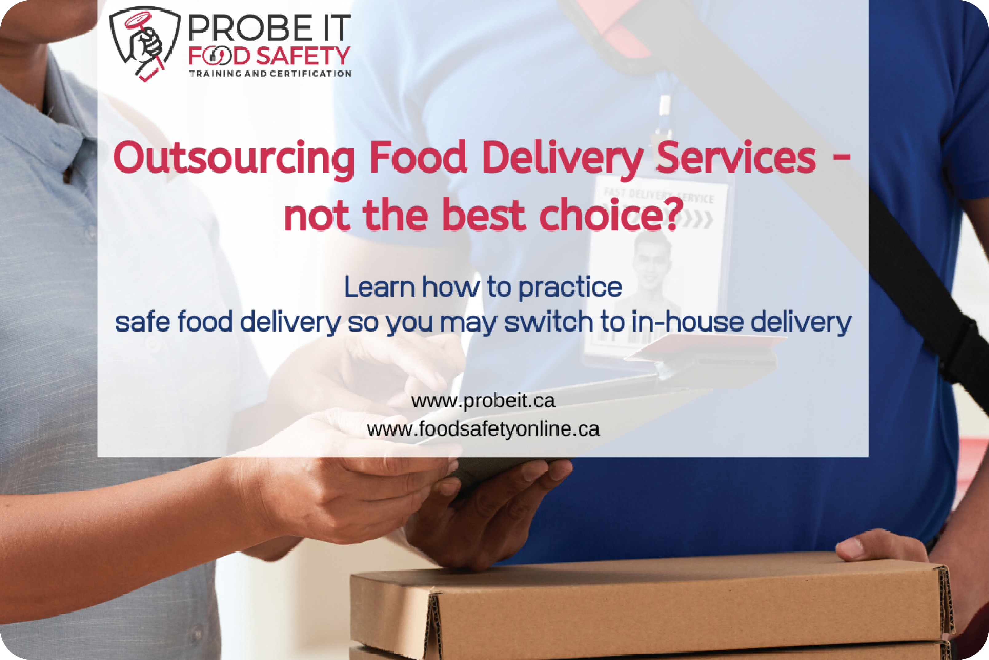 Outsourcing Food Delivery Services – not the best choice?